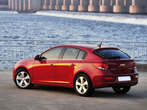 Поездка в Европу на Chevrolet Cruze Hatchback